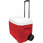 Coleman 60 Quart Wheeled Red/Wht Personal Cooler 3000001998