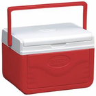 Coleman Flip Lid 6 Personal Cooler Red 5205A753G