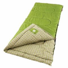 Coleman Green Valley 75x33 Inch Rectangle Sleeping Bag Green
