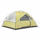 Coleman Instant 7x8 Foot Dome 6 Tent Yellow/Tan 2000015675