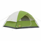 Coleman Sundome 6 Tent 10x10 Foot Green/White/Gry 2000007826