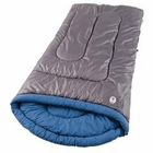 Coleman White Water 84x39 Inch Rectangle Sleeping Bag Gry/Bl