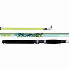 King Hawk GS Glowstix Spin Rod 10'0 In.  2Pc MH GS-1026SR/G