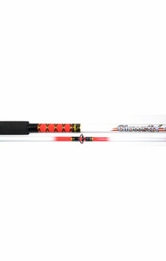 King Hawk GS Glowstix Spin Rod 12'0 In.  2Pc MH GS-1227SR/G