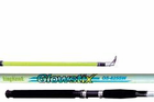 King Hawk GS Glowstix Spin Rod 8'0 In.  2Pc Med GS-825SR/G