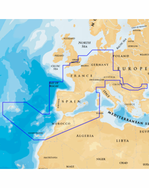 NAVIONICS GOLD FRANCE IBERIA NETHERLANDS,EU INLAND 46XG/SD