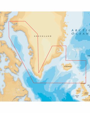 NAVIONICS GOLD GREENLAND AND ICELAND 20XG/SD