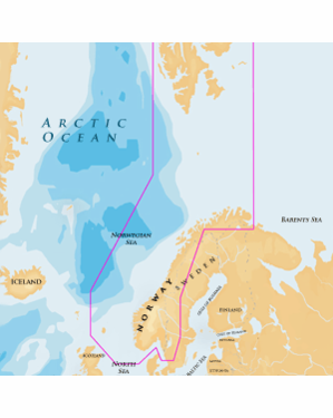 NAVIONICS GOLD NORWAY 49XG/SD XL9 GOLD