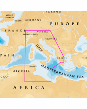 NAVIONICS PLATINUM PLUS 33P SD CENTRAL  MEDITERRANEAN