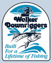 Walker Downriggers RH-TA  SINGLE BLACK TUBE