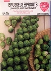 Brussels Sprouts - Long Island Improved