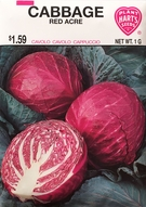 Cabbage Red Acre