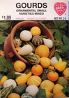 Gourds - Ornamental Small Varieties Mixed