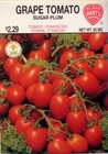 Grape Tomato - Sugar Plum