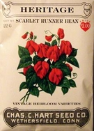 Heritage Vegetable Seeds:Heritage Scarlet - Runner Beans