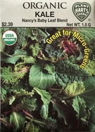 Organic Kale Nancy's Baby Leaf Blend
