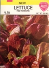 Lettuce - Red Romaine