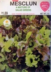 Mesclun - A Mix of Salad Greens