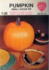 Pumpkin - Small Sugar Pie