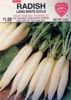 Radish - Long White Icicle
