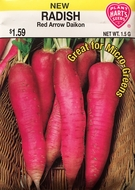 Radish Red Arrow Pink Diakon