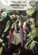 Organic Snow Pea Purple Podded