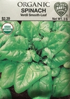 Spinach Verdil Smooth-Leaf