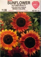 Flower Seeds:Sunflower - Autumn Beauty