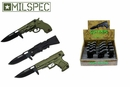 Milspec 12 Pc. Assisted Opening Assorted Gun Folders