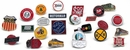 12 pc. Assorted Railroad Collectible Pin Set