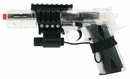 Colt 1911 Spring Powered Airsoft Pistol (Clear)