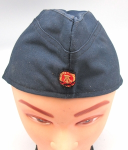 East German Navy Enlisted Man's Overseas Cap - Click to enlarge