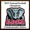 Alabama Crimson Tide 2015 Commemorative Knives