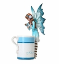 Amy Brown Hot Cocoa Faery