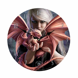 Anne Stokes Collection Exclusive Dragonkin Clock  [NFS]