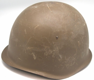 Czech Army M52 Steel Helmet - Click to enlarge