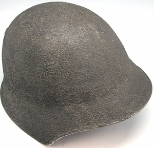 Swiss M18 Helmet- World War I-World War II era - Click to enlarge