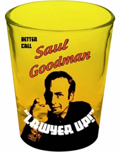 "Better Call Saul ""Lawyer Up!"" Shot Glass"