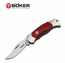 Boker Boy Scout Honey Comb Red