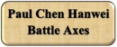 Paul Chen Hanwei Battle Axes