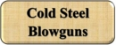 Cold Steel Blowguns