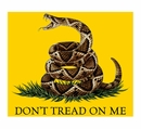 Don't Tread On Me Fleece Blanket- 50x60