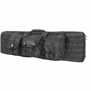 "Vism 42"" Tactical Double Carbine Padded Rifle Case -Black [NFS]"