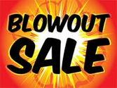 END OF SUMMER BLOWOUT SALE