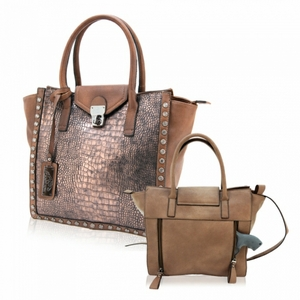 Freya Concealed Carry Purse: Mocha
