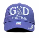 God Is Good All The Time Cap- Purple