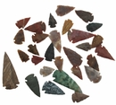 Hand Crafted Agate Arrowheads