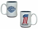 Harley Davidson Ceramic Coffee Mug- 15 oz.