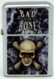 Lighter / Skull Bad to the Bone