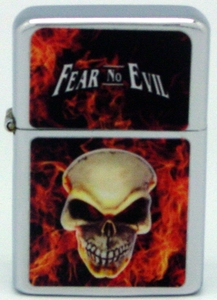 Lighter / Skull Fear No Evil